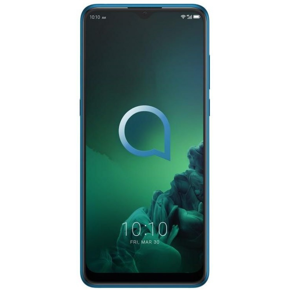 Alcatel 3X 2019 5048u, Dual SIM, 128 GB, 6 GB RAM, 4G LTE, 6.52 Inch - Jewelry Green