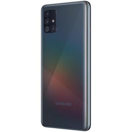 Samsung Galaxy A51 Dual SIM - 128GB, 4GB RAM, 4G LTE, Prism Crush Black