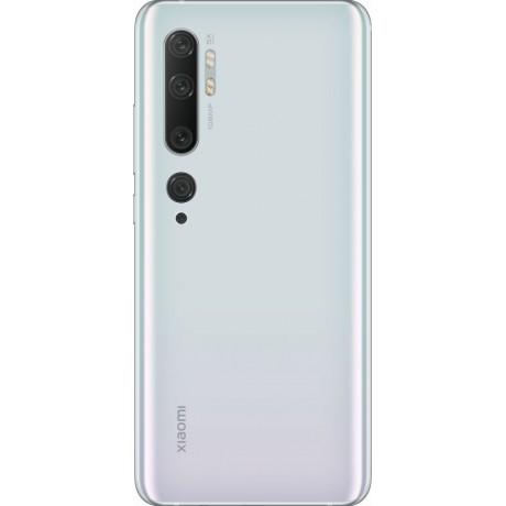 Xiaomi Mi Note 10, Dual SIM, 128 GB, 6 GB RAM, 6.47 Inch, 4G LTE - Glacier White