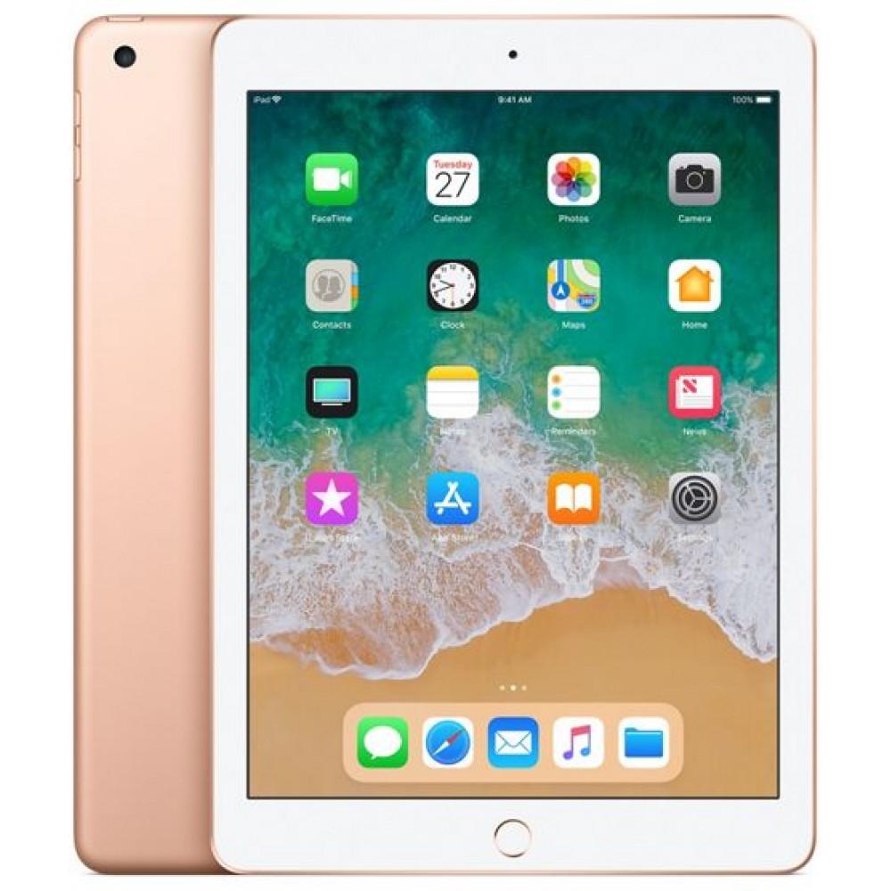 Apple iPad 2018 with Facetime - 9.7 Inch Retina Display, 32GB, WiFi, Gold