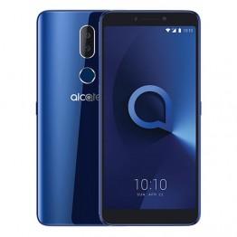 Alcatel 3v (5099U) - موبايل 6.0 بوصة - 16 جيجا - 4G - أزرق