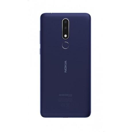 Nokia 3.1 Plus Dual SIM - 32GB, 3GB RAM, 4G LTE, Blue - TA1104