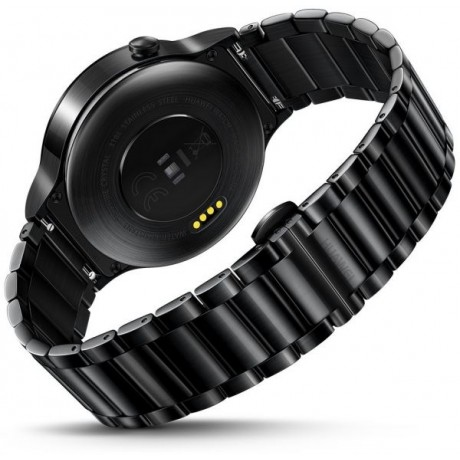 Huawei Smart Watch Black Stainless Steel with Black Stainless Steel Link Band
