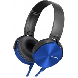 سماعة أذن للهواتف الذكية من سوني أزرق