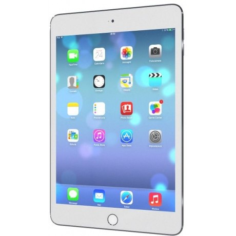 Apple iPad Mini 4 with Facetime Tablet - 7.9 Inch, 128GB, WiFi, Silver