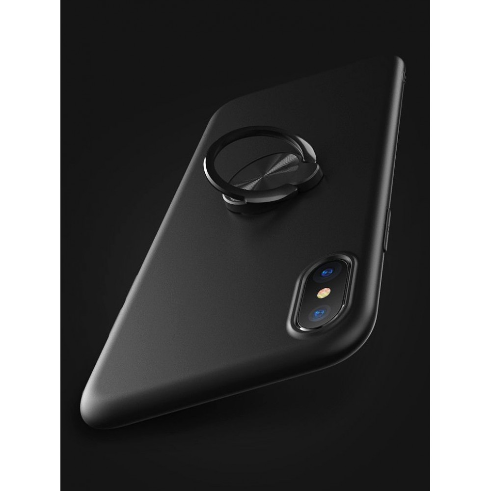Fshang ,Cool color ring, for Apple Iphone X,  Black
