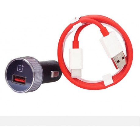 OnePlus, Official Dash Car Charger , Black