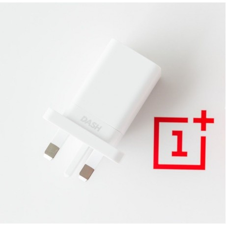 OnePlus, UK Dash Charger Adapter , White