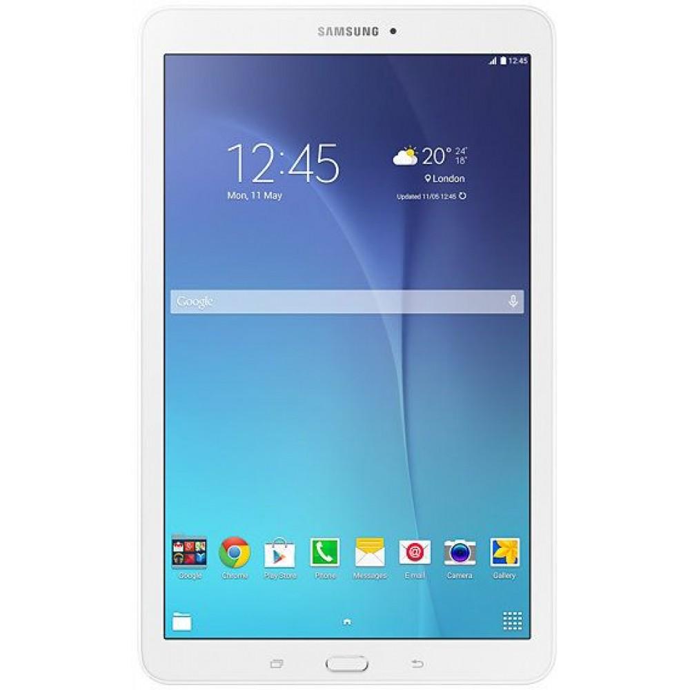 Samsung Galaxy Tab E SM-T561 Tablet - 9.6 Inch, 8 GB, Wifi, 3G, White