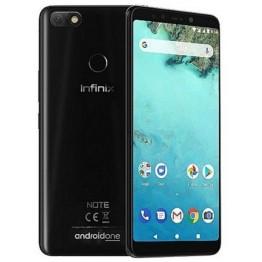 هاتف انفينكس نوت 5 ثنائي الشريحة - ذاكرة 32 جيجا - رام 3 جيجا - الجيل الرابع - أسود