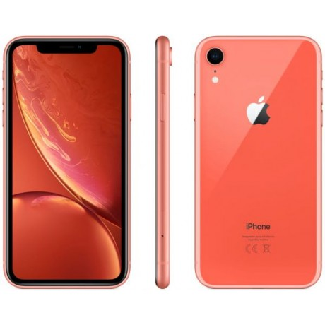 Apple iPhone XR with Face Time - 128GB, 4G LTE, Coral