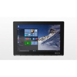 تابلت لينوفو يوغا بوك YB1-X91- انتل اتوم x5-Z8550 QC 2.24 جيجاهيرتز، شاشة متعددة اللمسات عالية الوضوح بالكامل 10.1 انش، 64 جيجا، 4 جيجا، ويندوز 10 برو، كربون بلاك