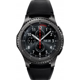 سامسونج جير اس3 فرونتير ساعة ذكية - رمادي غامق، SM-R760