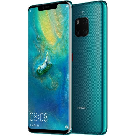 Huawei Mate 20 Pro Dual Sim - 128 GB, 4G LTE, Emerald Green, 6 GB Ram