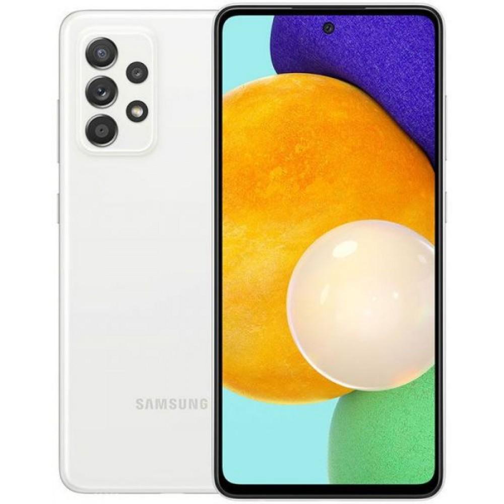 Samsung Galaxy A52 Dual SIM - 6.5 inches, 8 GB RAM, 256 GB - White
