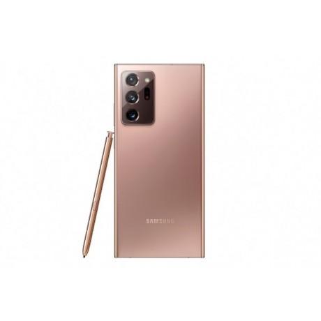 Samsung Galaxy Note 20 Ultra Mobile Phone, Hybrid Dual SIM, 6.9 Inch, 256 GB, 8 GB RAM, 4G LTE, 4500mAh - Mystic Bronze