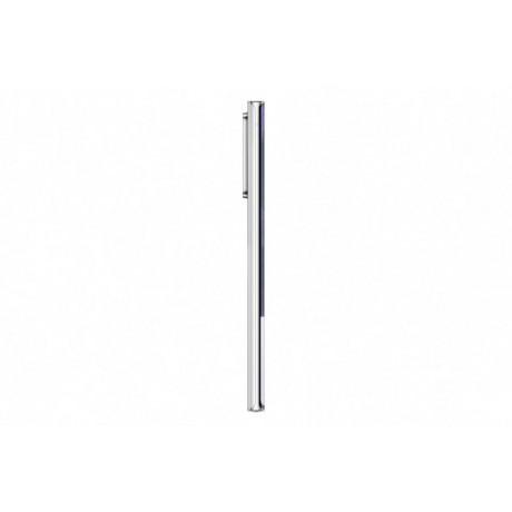 Samsung Galaxy Note 20 Ultra Mobile Phone, Hybrid Dual SIM, 6.9 Inch, 256 GB, 8 GB RAM, 4G LTE, 4500mAh - Mystic White