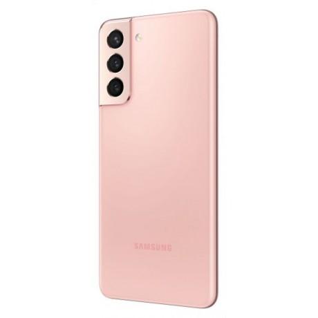 Samsung Galaxy S21 Dual SIM Mobile - 6.2 inches, 128 GB, 8 GB RAM, 5G - Pink