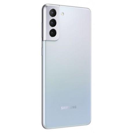 Samsung Galaxy S21 Plus Dual SIM Mobile - 6.7 Inches, 256 GB, 8 GB RAM, 5G - Silver