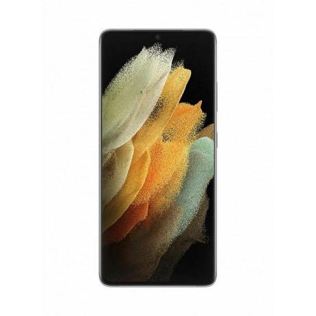 Samsung Galaxy S21 Ultra Dual SIM - Snapdragon 888 , 256 GB, 12 GB RAM, 5G - phantom Silver
