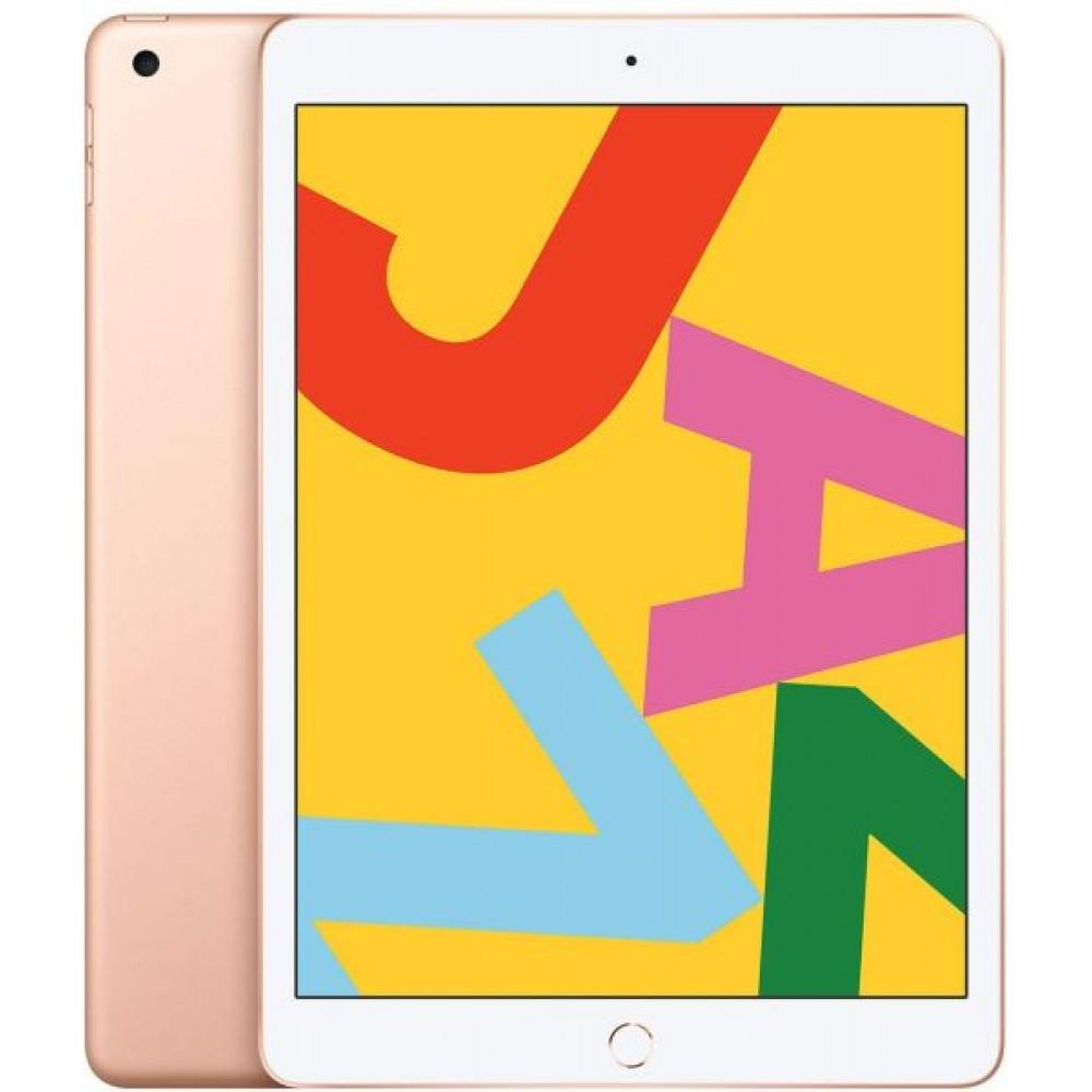 Apple iPad 2019 7th Gen - 10.2 inch Retina Display, Wi-Fi, 128GB, Gold