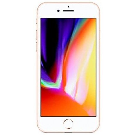 Apple Iphone 8 With Facetime - 128 GB, 4G LTE, Gold, 2 GB Ram, Single Sim