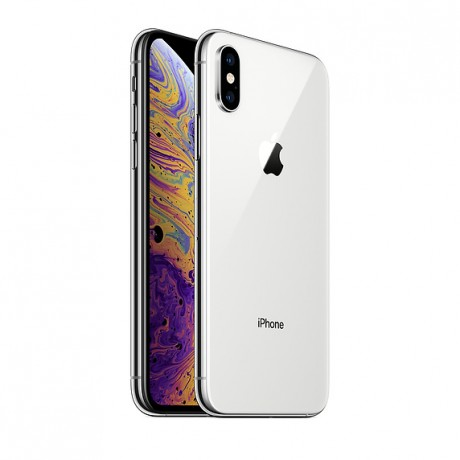 Apple Iphone XS With Facetime - 64 GB, 4G LTE, Silver, 4 GB Ram, Single Sim & E-Sim