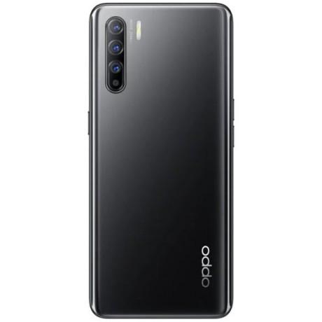 OPPO Reno3 Dual SIM Mobile - 6.4 Inch, 128 GB, 8 GB RAM, 4G LTE - Midnight Black