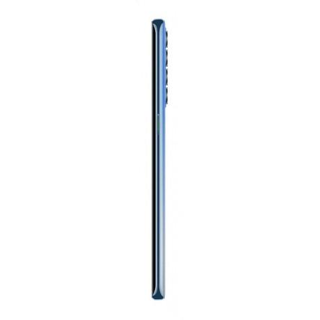 OPPO Reno4 Pro Dual SIM Mobile - 6.5 Inch, 256 GB, 8 GB RAM, 4G LTE - Galactic Blue