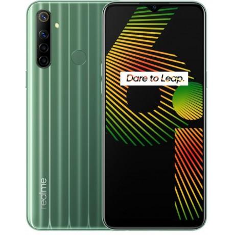 Realme 6i Dual SIM - 64GB, 3GB RAM, 4G LTE - Green Tea