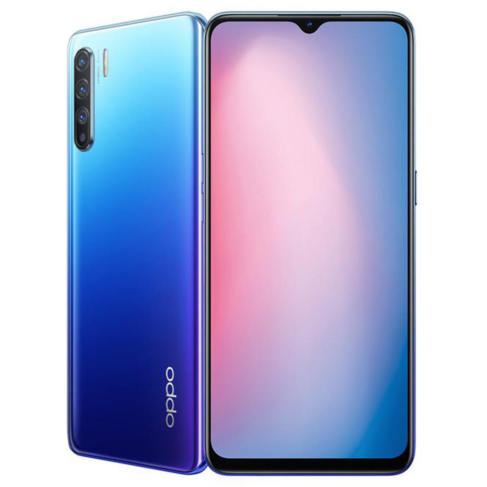 Oppo Reno3 - 6.4-inch 128GB/8GB Mobile Phone - Auroral Blue
