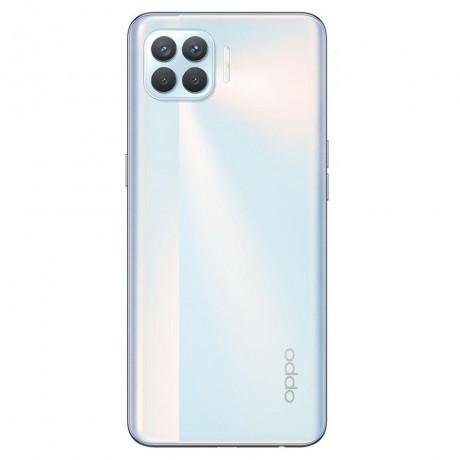 OPPO A52 Dual SIM Mobile - 6.5 Inch, 128 GB, 4 GB RAM, 4G LTE - Stream White