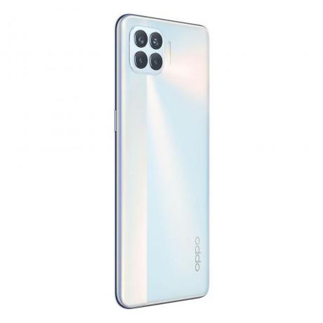 OPPO A93 Dual SIM - 128GB, 8GB RAM, 4G LTE - Metallic White