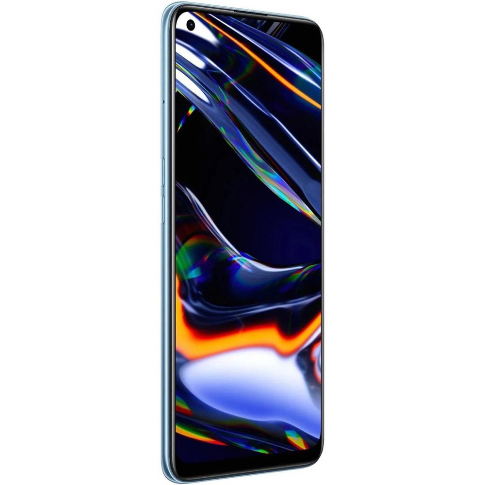 Realme 7 Pro Dual Sim Mobile, 6.4 Inches, 128 GB, 8 GB RAM, 4G LTE - Mirror Blue