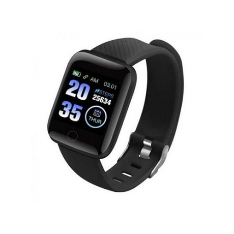 Generic Smart Bracelet Watch For Android & IOS - Black