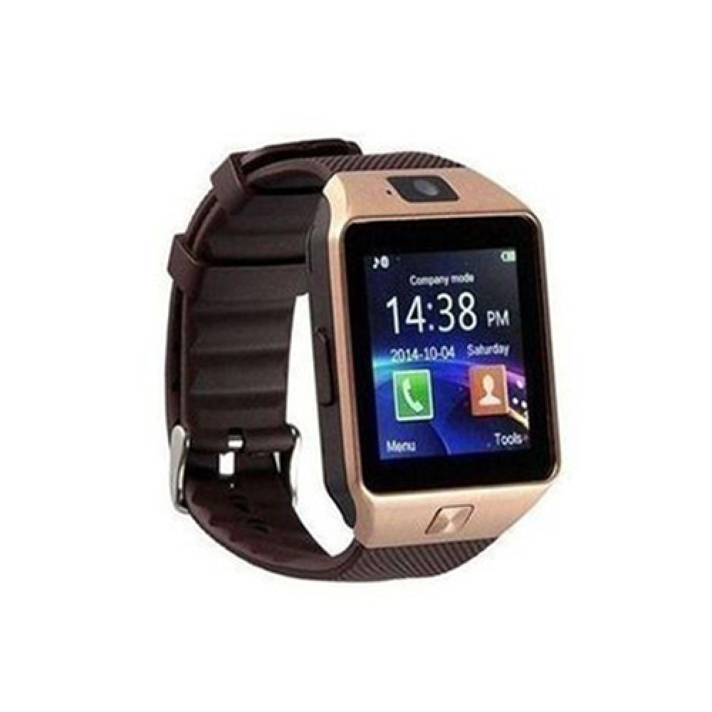 Generic Smart Watch With SIM Card For Voice Calls - Bronze