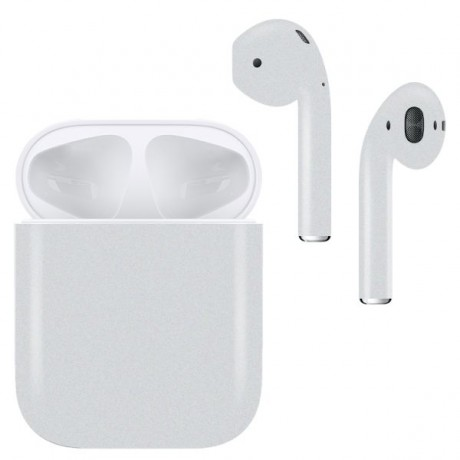 Apple Wireless AirPods, MATTE Off White BULLET Color- MMEF2AM/A