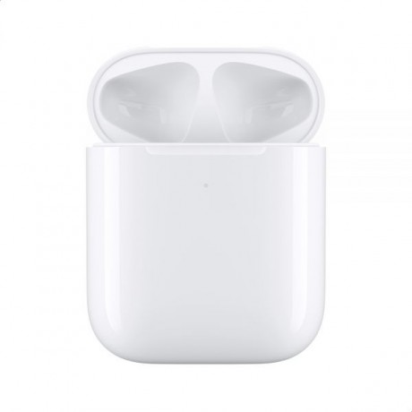 Apple MR8U2 Wireless Charging Case for AirPods - White