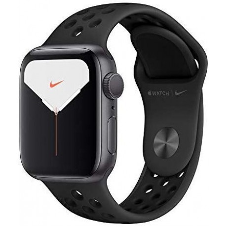 Apple Watch Nike Series 5 - GPS, 44mm Space Grey Aluminium Case with Anthracite/Black Nike Sport Band