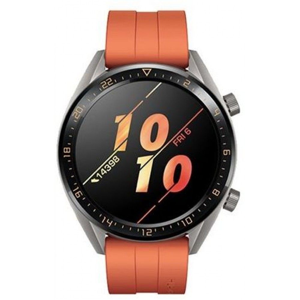 Huawei B19R Fortuna Stainless Steel Smart Watch - Orange