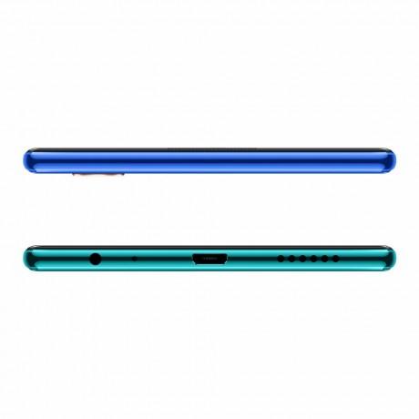 Vivo Y15 Dual SIM Mobile Phone, 6.35 Inch, 4GB RAM, 64 GB, 4G LTE - Aqua Blue