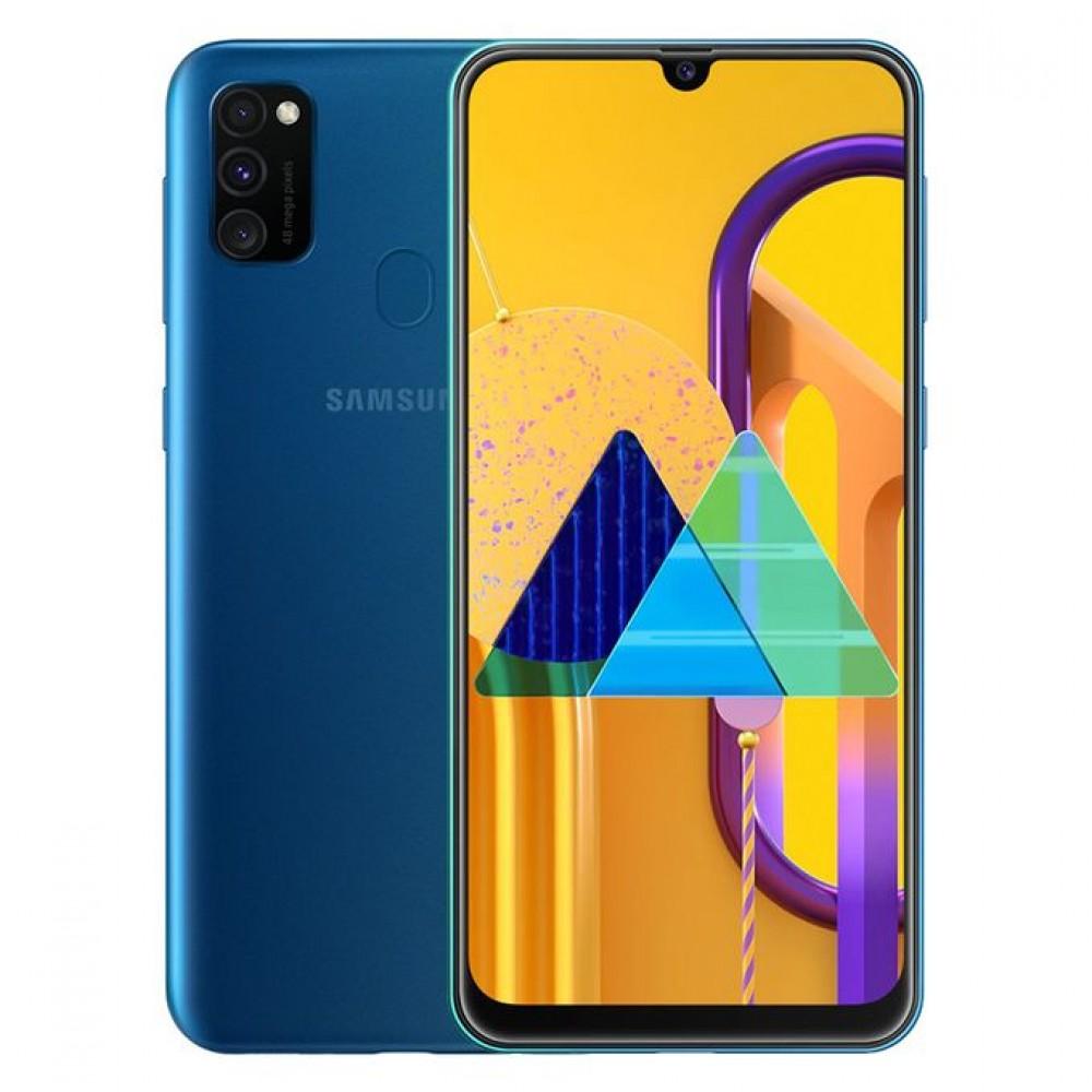 Samsung Galaxy M30s - 6.4-inch 64GB/4GB Dual SIM Mobile Phone - Blue