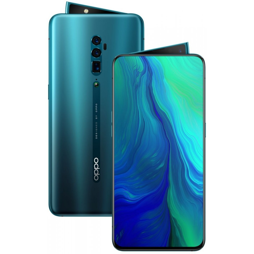 Oppo Reno 10X Zoom Dual Sim - 256 GB, 8 GB Ram, 4G LTE, Ocean Green
