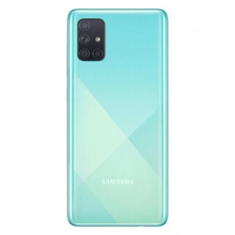 Samsung Galaxy A71 Dual SIM - 128GB, 8GB RAM, 4G LTE, Blue