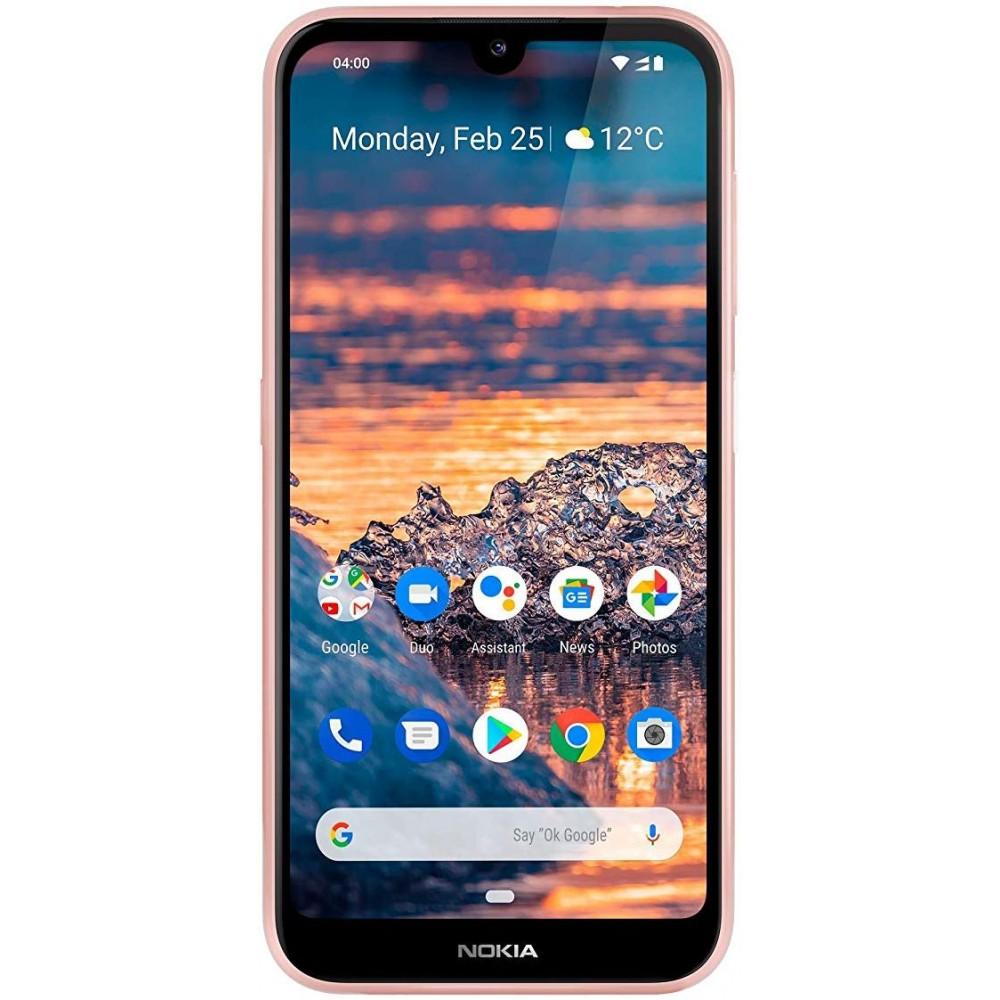 Nokia 4.2 Dual SIM - 32GB, 3GB RAM, 4G LTE, Pink Sand