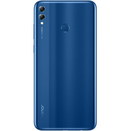 Honor 8X Max Dual Sim - 128 GB, 4 GB Ram, 4G LTE, Blue
