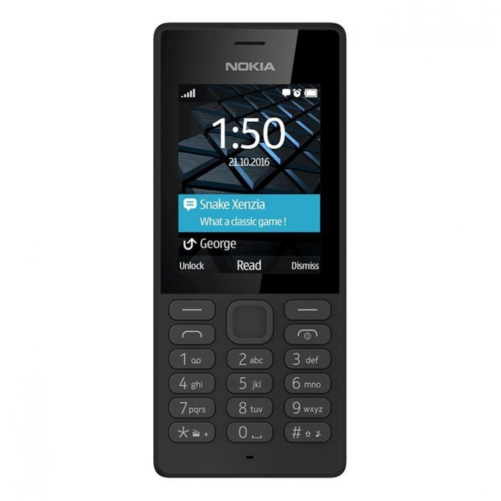 "Nokia 150 - 2.4"" Dual SIM Mobile Phone - Black"