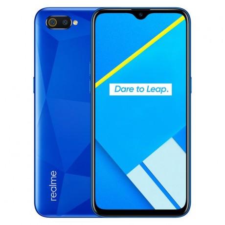 Realme C2, Dual SIM, 64 GB, 3 GB RAM, 4G LTE, 6.1 Inch - Diamond Blue