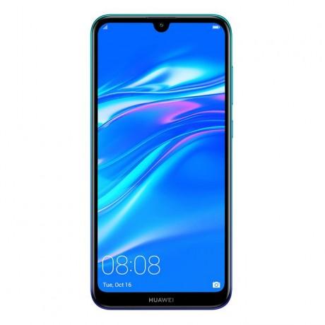 Huawei Y7 Prime 2019 Dual Sim - 32 GB, 3 GB Ram, 4G LTE, Arabic Aurora Blue, Dub-Lx1