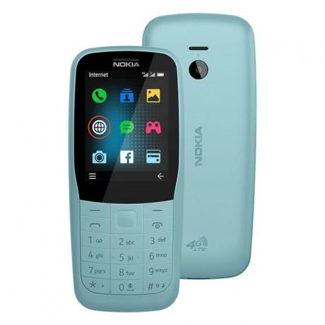 Nokia 220 TA-1155 Dual SIM - 24MB, 4G LTE, Blue